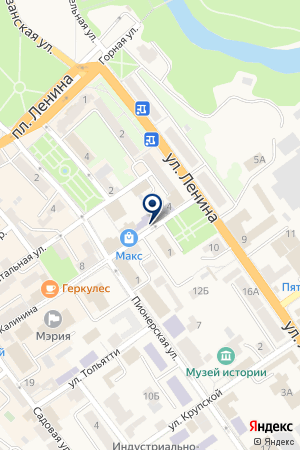 МАГАЗИН МЕГАПОЛИС на карте Черняховска