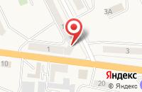 Схема проезда до компании Омега в Черняховске