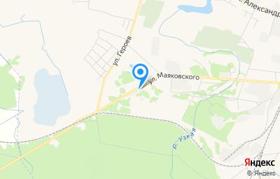 Местоположение на карте пункта техосмотра по адресу Калининградская обл, г Советск, ул Маяковского, д 9В
