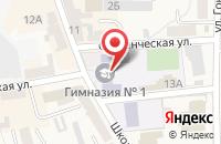 Схема проезда до компании САЛОН СОТОВОЙ СВЯЗИ МЕГАФОН в Советске