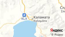 Отели города Каламата на карте
