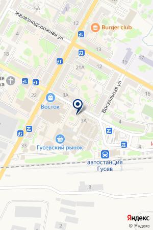 СТРОИТЕЛЬНАЯ ОРГАНИЗАЦИЯ МАСТЕР СТРОЙ ПРОФИ на карте Гусева