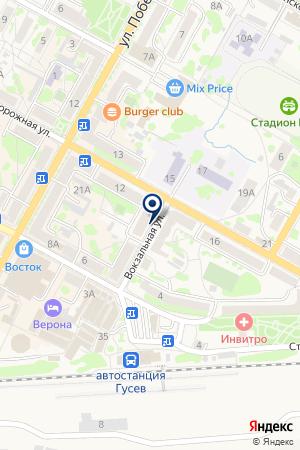 ГУ ЦЕНТР ЗАНЯТОСТИ НАСЕЛЕНИЯ Г. ГУСЕВА на карте Гусева