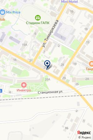 АЗС на карте Гусева