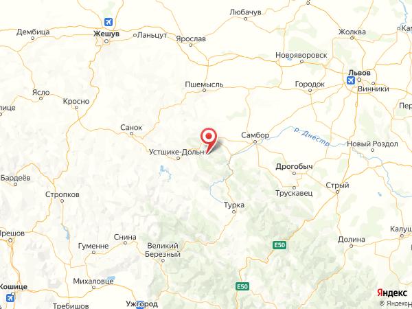 село Либухова на карте