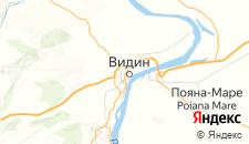 Отели города Видин на карте