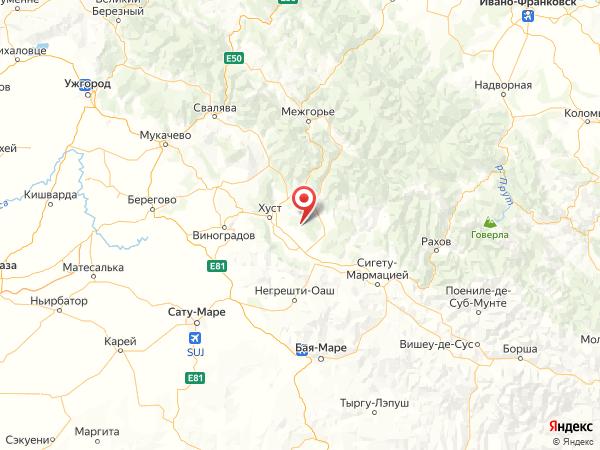 село Данилово на карте