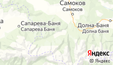 Отели города Говедарци на карте