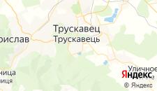 Гостиницы города Трускавец на карте