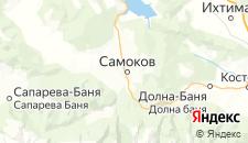Отели города Самоков на карте