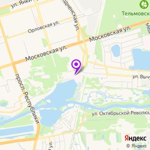 Брестская центральная городская больница на карте
