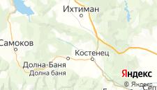 Отели города Пчелин на карте