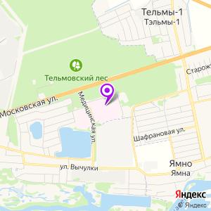 Областная клиническая больница на карте