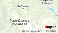 Отели города Горно-Дряново на карте