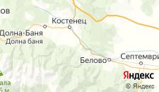 Отели города Габровица на карте