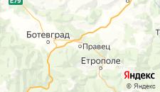 Отели города Правец на карте