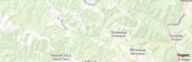 Буковель на карте