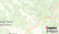 Гостиницы города Буковель на карте