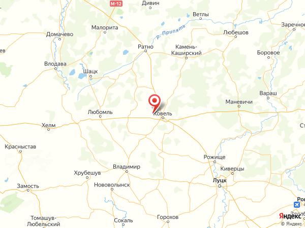 село Черкасы на карте