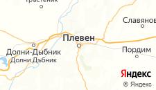 Отели города Плевен на карте