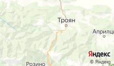 Отели города Балканец на карте