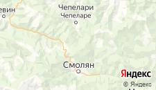 Отели города Пампорово на карте