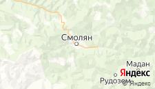 Отели города Смолян на карте