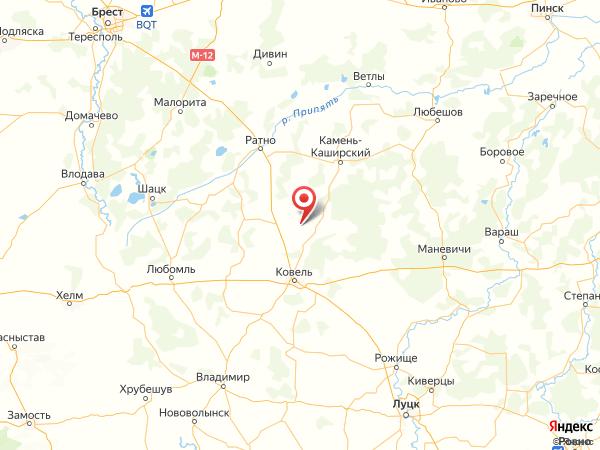 село Грабово на карте