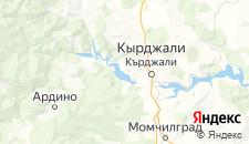 Отели города Главатарци на карте