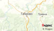 Отели города Габрово на карте