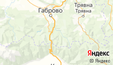 Отели города Червена-Локва на карте