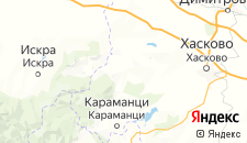 Отели города Минерални-Бани на карте