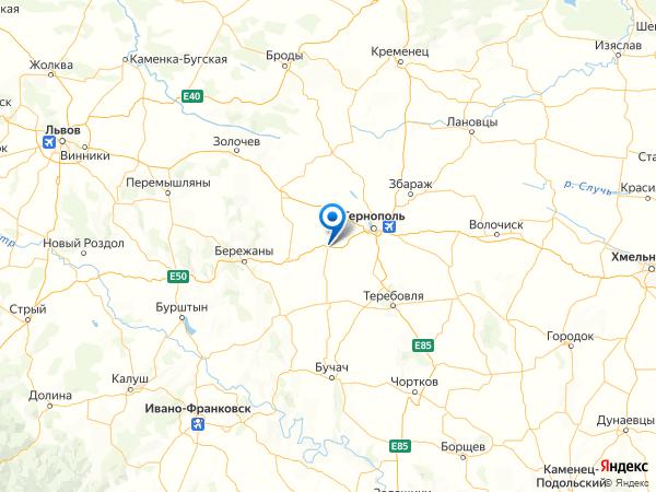 село Городище на карте
