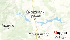Отели города Кырджали на карте
