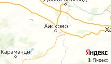 Отели города Хасково на карте