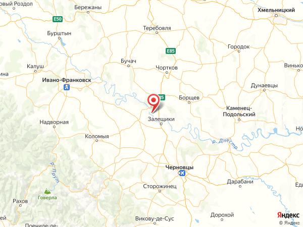 село Иване-Золотое на карте