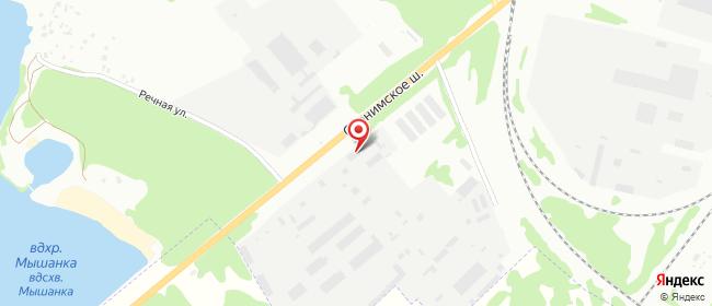 Карта расположения пункта доставки DPD Pickup в городе Барановичи