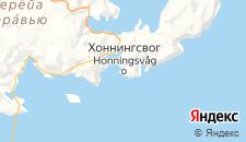 Отели города Хоннингсвог на карте