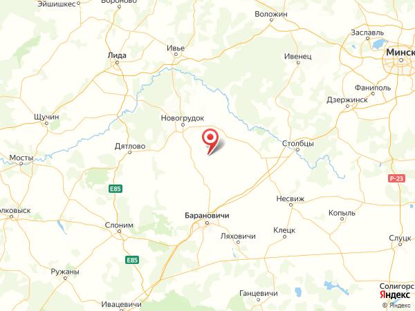 поселок Дуброво на карте