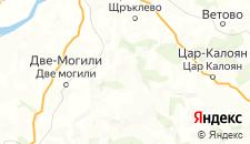 Частный сектор города Червен на карте