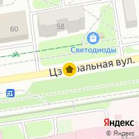 Световой день по адресу Беларусь, Брестская область, Пинск, Центральная, ул