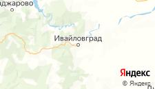Отели города Ивайловград на карте