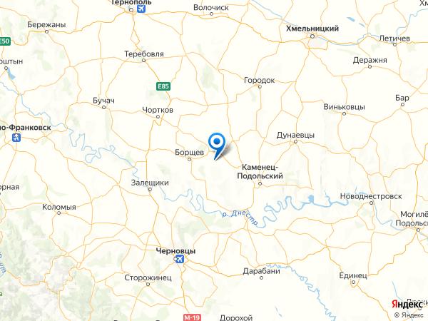 село Троица на карте