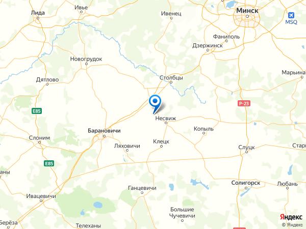 поселок Крутой Берег на карте