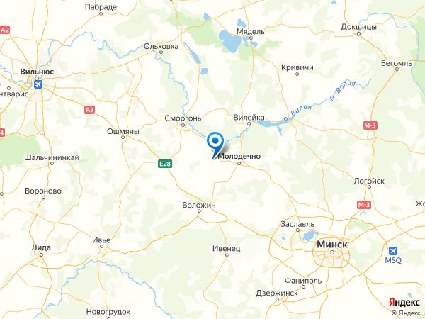 деревня Кучки на карте