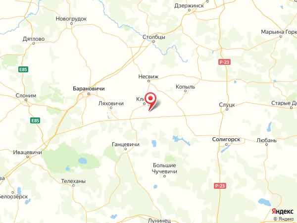 деревня Красная Звезда на карте
