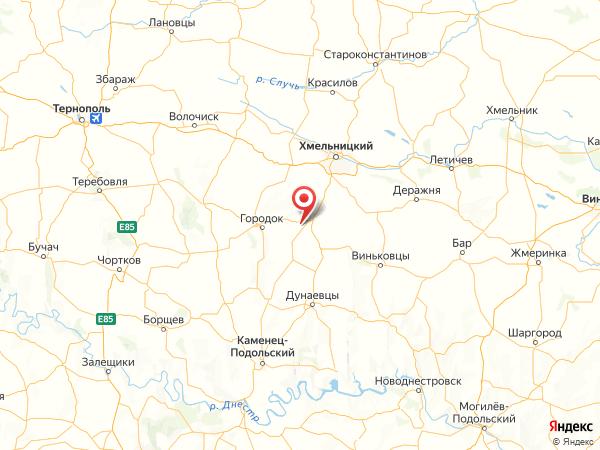 село Новое Село на карте