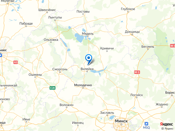 деревня Савино на карте
