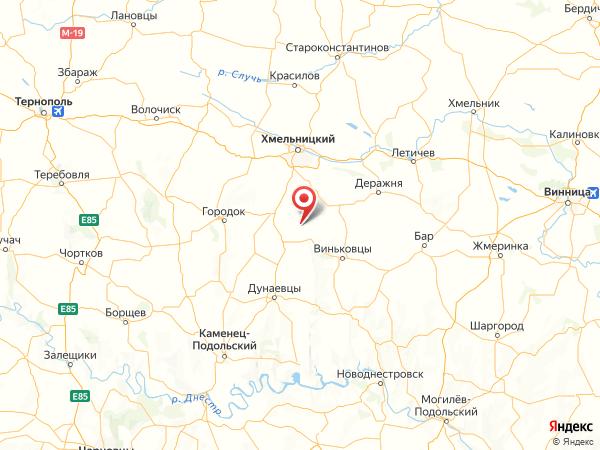 село Барановка на карте