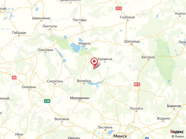 деревня Балаши на карте